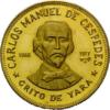 100 Pesos Cuba Grito De Yara C.M. Cespedes