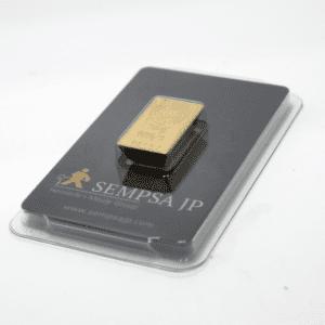 Lingote de oro 50 gramos 9999 Marca SEMPSA