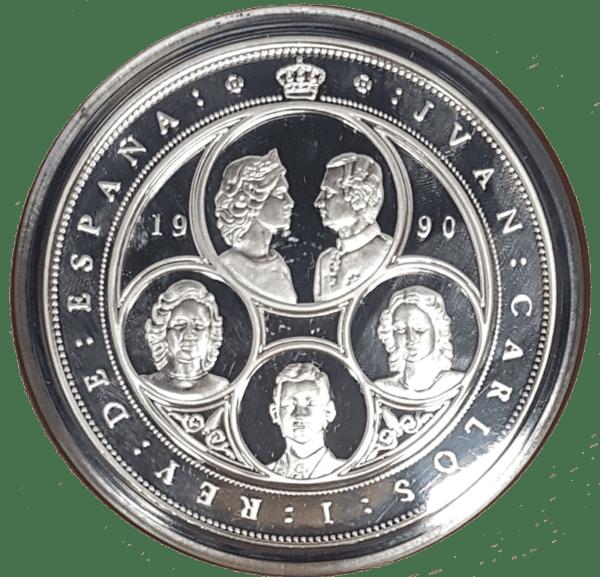 Moneda-10.000-pesetas1990EspañaPlata