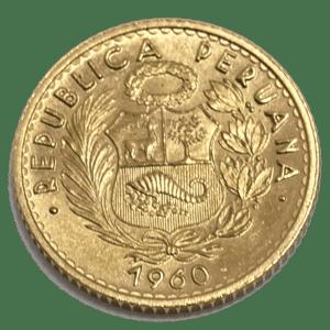 Moneda Oro 10 Soles Peru Varios Años