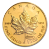 Moneda 1/2 Oz Oro Maple 20 Dolares 1999 Canada