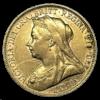 Moneda de Oro Libra Esterlina varios años y reyes .