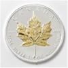 Moneda 1 Onza Plata 999 Maple Canadá edición Exclusiva
