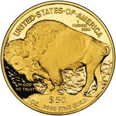 Las monedas de oro de estados unidos