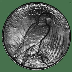 Moneda 1 Dolar de la PAZ plata ESTADOS UNIDOS DE AMÉRICA