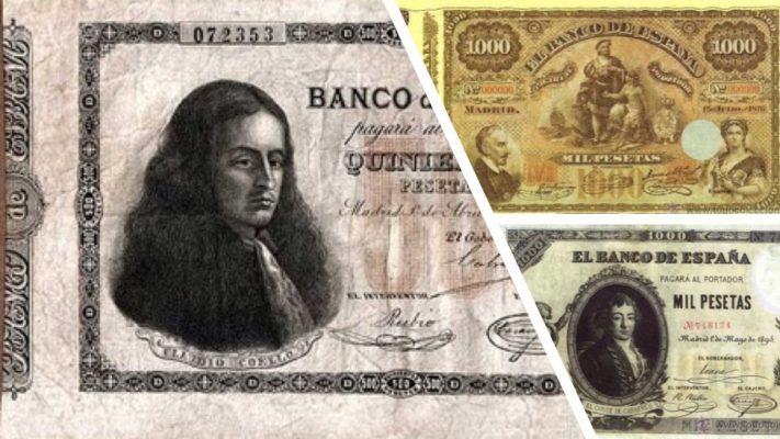 los billetes antiguos espanoles