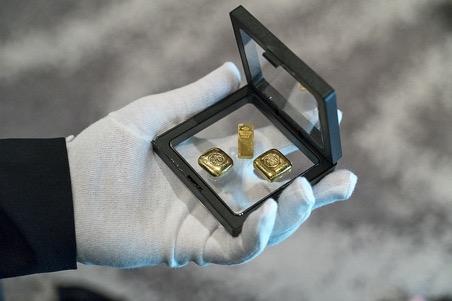 densidad del oro puro