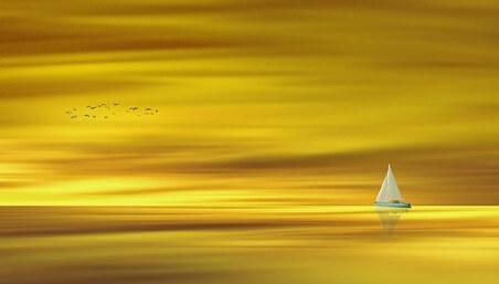 oro en el oceano