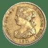 Moneda Oro 100 Reales Isabel II. Año 1861 ESPAÑA