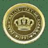 Moneda oro 5.000 Pesetas Quinto centenario Carlos I Año 1992 serie IV oro PROOF. España ( Prensa )
