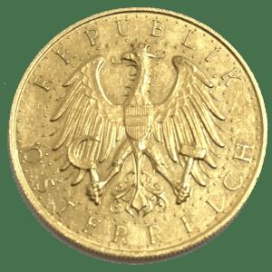 Moneda de Oro 100 Chelínes / Schilling AUSTRIA 1925-1934