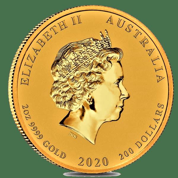 Moneda 2 Onzas de oro 200 dollares año del RATÓN 2020 AUSTRALIA