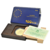 Moneda oro 100 Ecu Madrid capital europea de la Cultura Proof 1992 España