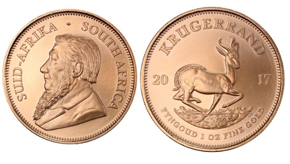 valor moneda krugerrand