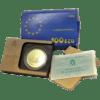 Moneda oro 100 Ecu La Marina Española Proof 1995 España