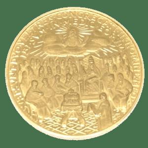 Moneda / Medalla de Oro segundo Concilio del vaticano Juan XXIII (1958-1963)