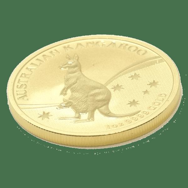 Moneda 1 Onza oro Canguro Año 2009 Australia Nugget