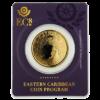 Moneda 1 Onza oro Grenada Diving Paradise / Granada Paraiso del Buceo - Año 2019 EASTERN CARIBBEAN COIN PROGRAM