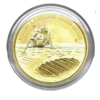 Moneda 1 Onza oro Moon Landing / Aterrizaje Lunar-100 Dolares - Año 2019 Australia