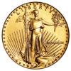Moneda de Oro 1/10 de onza 5 Dolares AGUILA de Estados Unidos 1989
